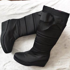 Kate Spade Cagney Nylon Quilted Wedge Snow Boot 9